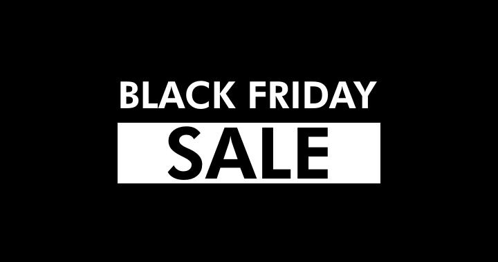 Black Friday advert